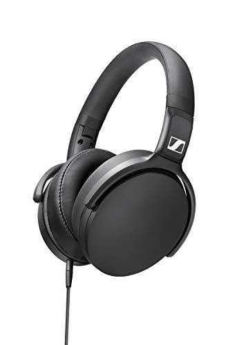(Sennheiser HD 400S Closed Back, Around Ear Headphone with One-Button Smart Remote on Detachable Cable)