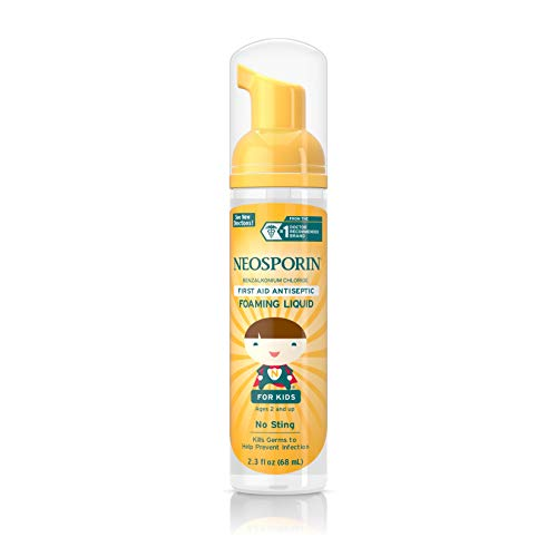 Neosporin Wound Cleanser For Kids To Help Kill Bacteria, 2 3 Oz (Pack of 2)