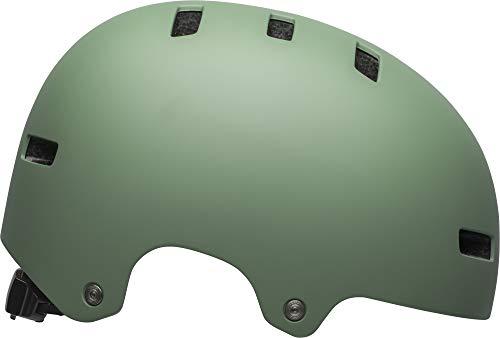 Bell Local Adult BMX & Skate Helmet (Matte Light Green (2019), Medium)