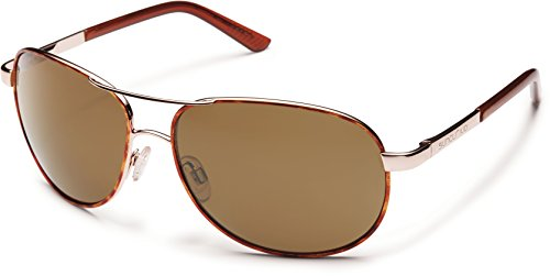 09992565951 Jual Suncloud Polarized Sunglasses Aviator in Tortoise with Brown ...