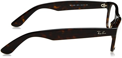 C54 Havana Dark Wayfarer New Optical Ray RX5184 Ban nqX0czg