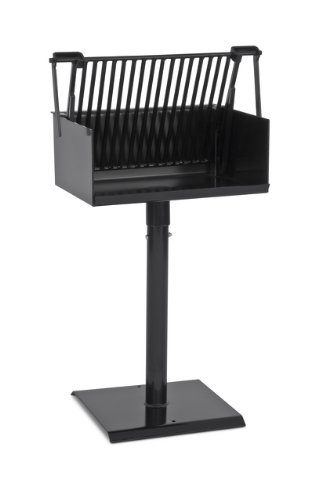 (Park Grill, Charcoal burning, Surface mounted, Includes: fire box, grill, 15