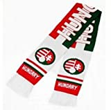 Double Jacquard Knitted Soccer Scarf - Hungary