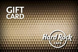 Hard Rock Cafe Gift Card ($50) (To Dallas Beach Myrtle)