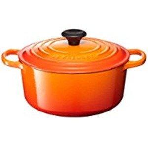 ル クルーゼ (Le Creuset) シグニチャー ココット ロンド 16cm オレンジ 生活用品 インテリア 雑貨 キッチン 食器 鍋 圧力鍋 14067381 [並行輸入品]   B07GTTYNQL