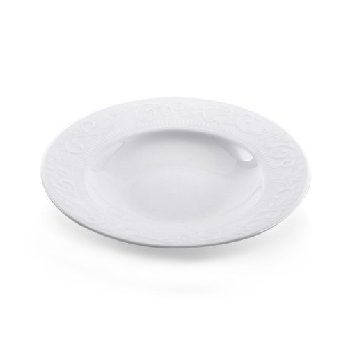 Mikasa Countryside Scroll 9-1/4-Inch Rim Soup Bowl