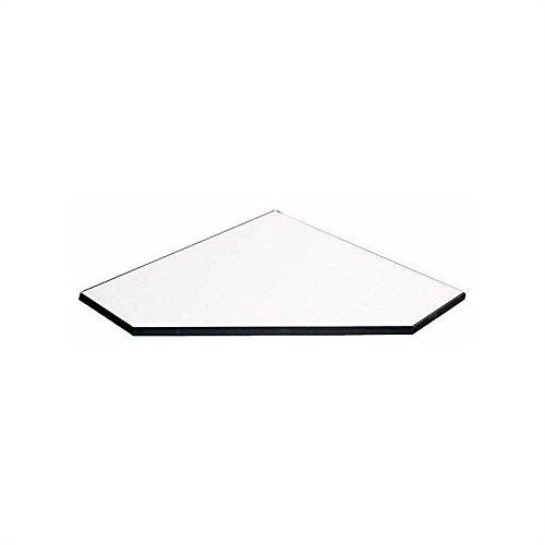 Bush Business Furniture Aspen Tables 28-1/2W Corner Connector in White ()