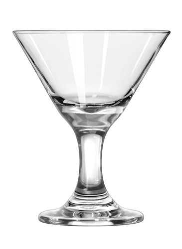 Libbey 3-Ounce Clear Mini Martini Glass, Set of 12