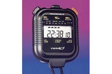 VWR 62379-036 Big-Digit Stopwatch VWR International Chronograph 6 cm Diameter Plastic, Degree C Fluid/_Ounces