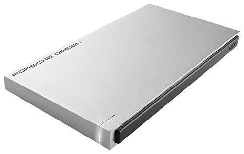 - LaCie Porsche Design USB 3.0 2TB Mobile Hard Drive + 2mo Adobe CC Photography (STET2000403)