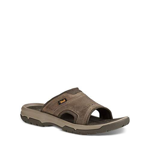 Image of Teva Men's M Langdon Slide Sandal, Walnut, 12 M US