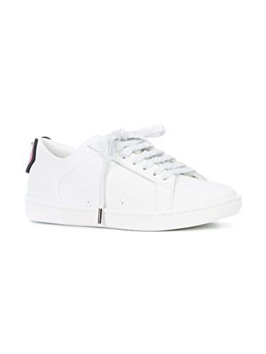 Sneakers Laurent Donna Pelle Bianco 484928EXV606547 Saint SqCwd5S
