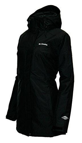 Alpine Ski Package - Columbia Women's Frigid Flight Long Interchange 3 in 1 Jacket OMNI HEAT, Black , Small