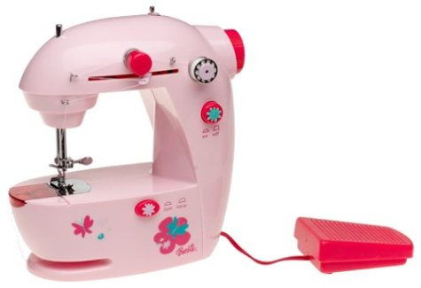Amazon Barbie Lightweight Portable Sewing Machine Cool Barbie Sewing Machine Instructions