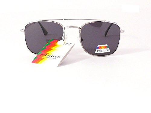 polarisés aviateur 47mm lunettes 135mm 201321 polarisées hauteur verres verres de gris femme largeur polarisantes homme soleil 7qpwx7FP