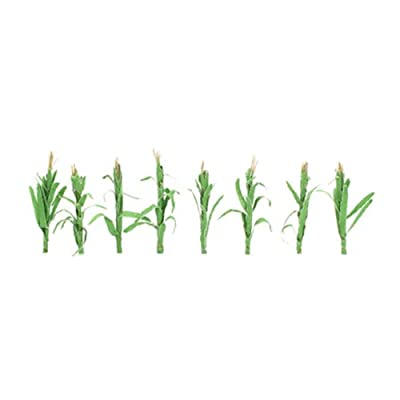 "JTT Scenery Products Flowering Plants, Corn Stalks, 2"": Toys & Games"