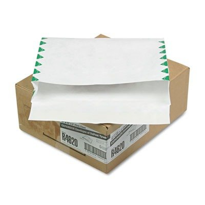Survivor(R) Tyvek(R) Expansion Mailers, Side Opening, 10in. x 13in. x 2in., 1st Class, Box Of 100