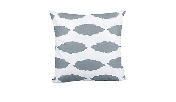 jieGREAT - Funda de cojín para sofá con diseño geométrico ...
