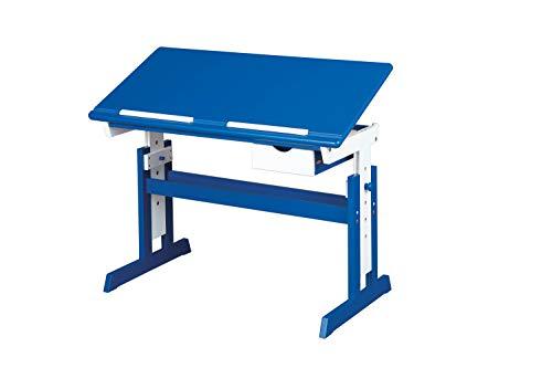 Inter Link 40100600 – Escritorio Infantil, Color Azul/blanco