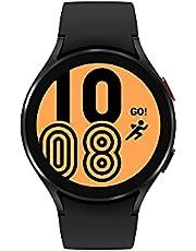 "Samsung Galaxy Watch4 44mm Black Aluminum - Google Wear OS, 1.36"" Round Display, Digital Bezel, HR Monitor, VO2 Max, Fitness Tracking, Sleep Management (CAD Version & Warranty)"