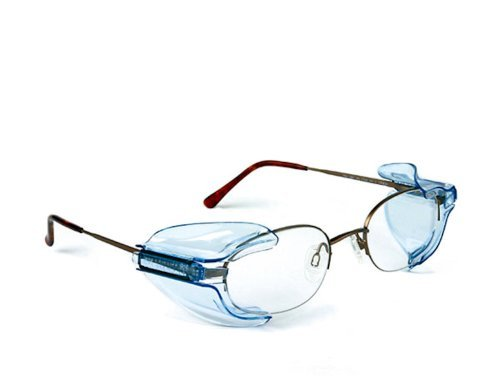 B26+ Wing Mate Safety Glasses Side Shields- Fits Small to Medium Eyeglasses (1 Pair) ()