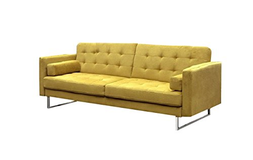 Verona Sectional (New Spec Verona Klik Klak Fabric Sofabed Fabric, Yellow)