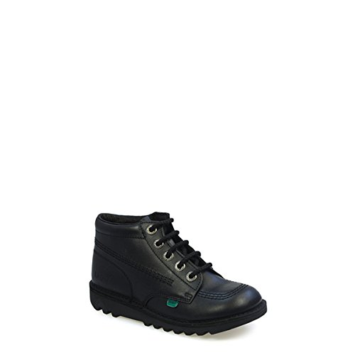 Image of Kickers Kick Hi Toddlers I Core Black Leather Boots