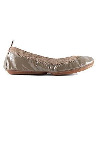 Samra Flat Taupe Ballet Patent Samra Yosi Women's awqOz1ad
