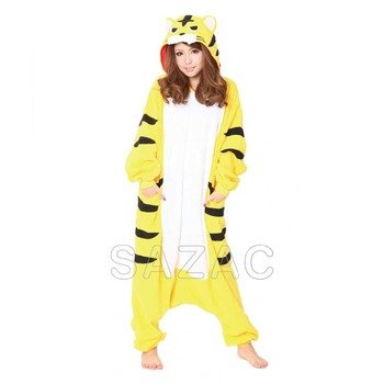 Costume Adult fleece animal [Tiger] 2636 by SAZAC Sasak