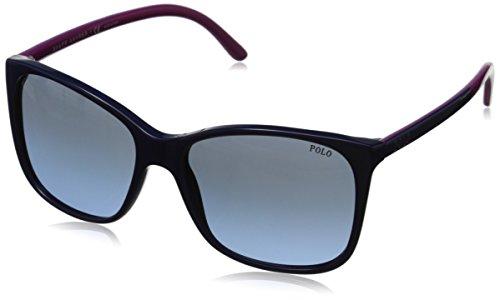 Polo Ralph Lauren Women's 0PH4094 Rectangular Sunglasses, Blue Gradient,Blue,Cyclamen & Blue, 55 - Ralph Sunglasses P