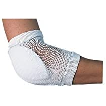 Pediatric Rolyan Premium Heel//Elbow Protector Durable Cushioned Sleeve for Athletic Use in Diffusing Pressure Foam Padded Sleeve for/Skin Protection and Shock Absorption from Impacts White