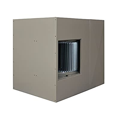MasterCool AU2C7112 Up-Draft Evaporative Cooler with 2,300 Square Foot Cooling, 7,000 CFM