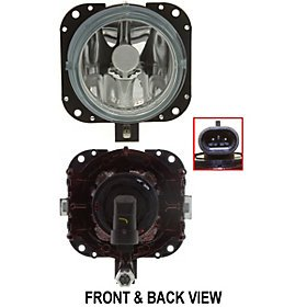 Mazda Replacement Fog Light Assembly - Driver/Passenger Side