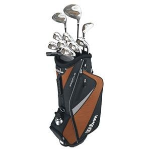 Left Handed Mens Senior Golf Set with Bag