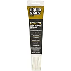 LIQUID NAILS/PPG ARCH FIN 00372371 Nails/Ppg Arch Fin LN-547 5OZ Liquid Nails Fuze It