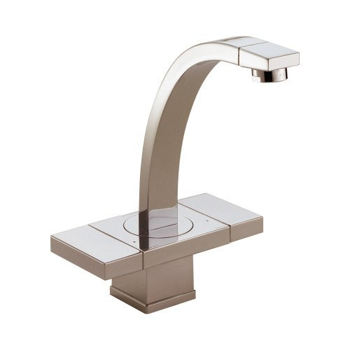 Brizo 65172LF-BN Loki Bathroom Faucet Double Handle Single Hole, Brushed (Loki Single Hole)