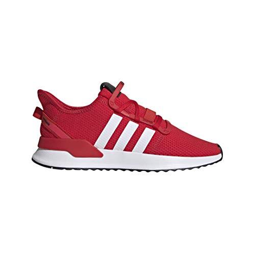 adidas Originals Men's U_Path Running Shoe, Scarlet/White/Shock Red, 10 M US