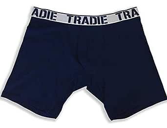 Tradie Big Fella Long Leg Trunks (6XL, Navy)