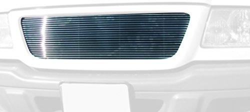 TRex Grilles 20688 Horizontal Aluminum Polished Finish Billet Grille Insert for Ford Ranger 2WD
