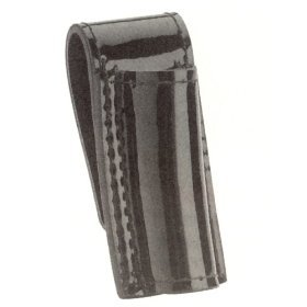 - Hi High Gloss Police Duty Belt Mini Mag Maglite Flashlight Holder Case, Black