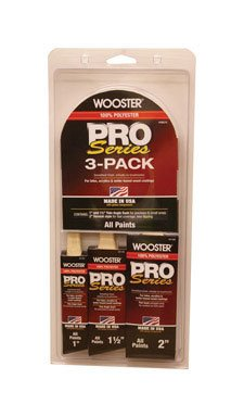 """Wooster Pro Brush Angle All Paints 3 / Pack 1 """""""