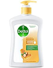 Dettol Nourish Anti-Bacterial Hand Wash with Shea Butter and Honey - 400 ml
