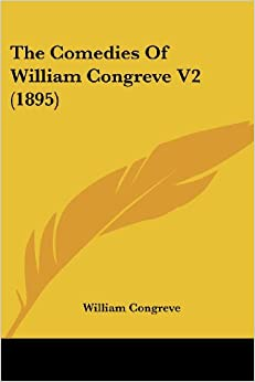 Book The Comedies of William Congreve V2 (1895)