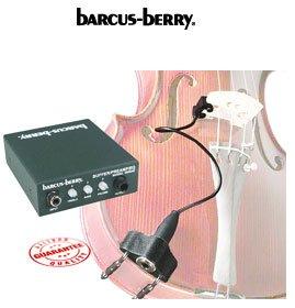 Barcus Berry - clamp-on bridge violin piezo pickup (includes preamp)