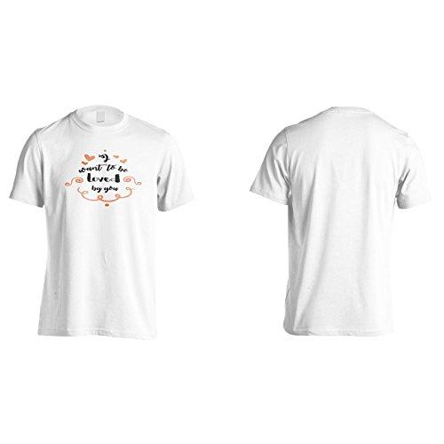 Ich Möchte Von Dir Geliebt Werden Herren T-Shirt k915m