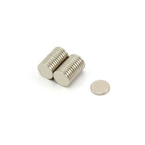 MAGNET Expert Ltd capacit/à 0,41 kg misure 8x1 mm Blocchi magnetici in neodimio per artigianato e modellismo