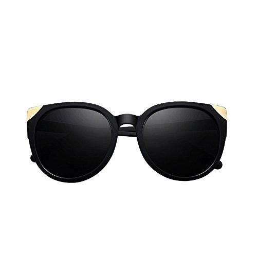 Lady Sol de Redonda 3 Driver 1 Gafas Gafas Retro DT Glasses Sunglasses Cara Color qxAtw58