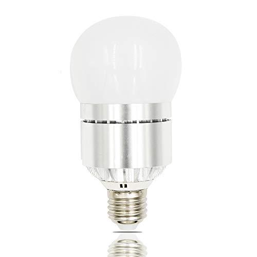 Bonlux 12W Dusk to Dawn LED Light Sensor Light Medium Screw Base E26 Automatic on/Off with Photo Sensor for Garden Garage Porch Patio Yard Hallway Lighting (Warm White 3000K)