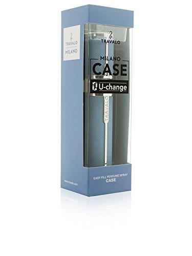 Travalo Custodia Spray di sacchetto Milano HD Elegance blu chiaro TR65MLSLCALTB
