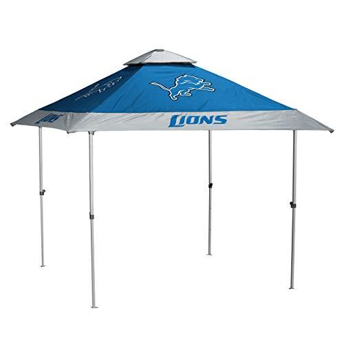 Logo Brands NFL Detroit Lions Unisex Detroit Lions 2017 Logo Pagoda Canopy (No Lights) Detroit Lions 2017 Logo Pagoda Canopy (No Lights), Multi, One Size